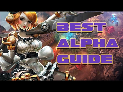BEST ALPHA GUIDE - DOMINATE THE JUNGLE | VAINGLORY