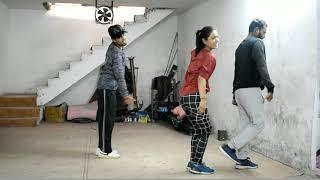 SIMMBA- Aankh Marey _ dance Choreography by dumbo Akshay