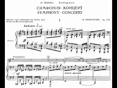 Prokofiev Sinfonia Concertante in e minor, Op. 125 (Han-na Chang)