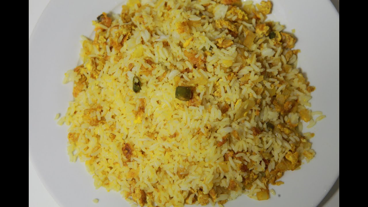 Easy egg fried rice in just 5 min by telugu taste buds youtube ccuart Images