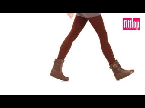 FitFlop Superboot Short - Leather Chocolate