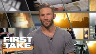 Patriots' Julian Edelman Joins First Take | First Take | June 30, 2017