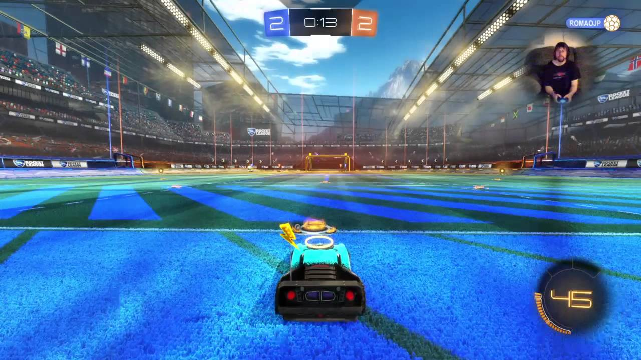 DeSaulniath Rocket League with camera and Jesse - YouTube
