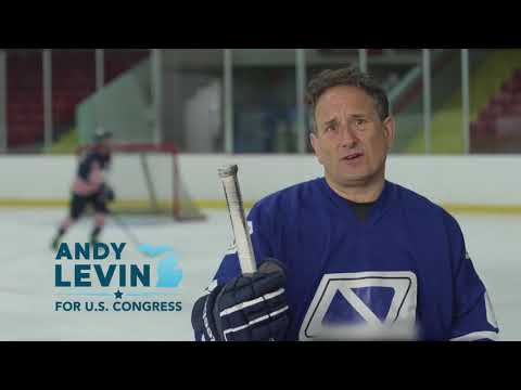 """""""Hockey"""" - Andy Levin for Congress"""