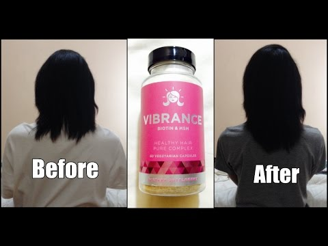 60 Day Hair Challenge Final Update With EuNatural Vibrance Hair Vitamins
