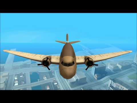 Douglas DC-3 flight test