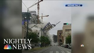 Download New Orleans Hard Rock Hotel Construction Site Partially Collapses, Killing At Least 1 | Nightly News Mp3 and Videos