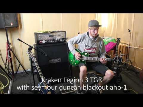 Kraken Legion guitar