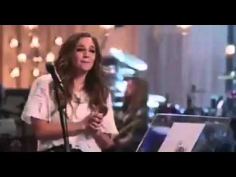Christina Aguilera rehearsing Stone Cold with Alisan Porter for The Voice Top 12