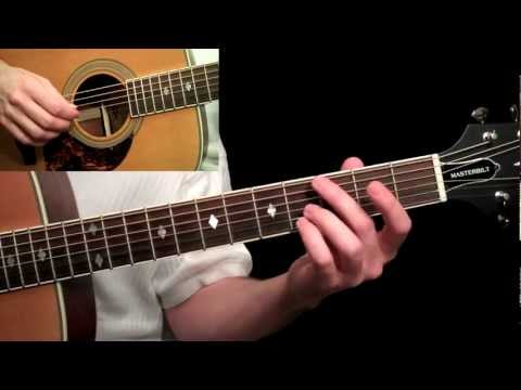The Beatles - Yesterday Guitar Lesson Pt.1 - Tuning, Intro & Chorus