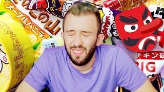 טועם ממתקים יפנים!