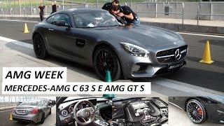 AMG Week (Velo Città): lançamento Mercedes-AMG C 63 S e AMG GT S