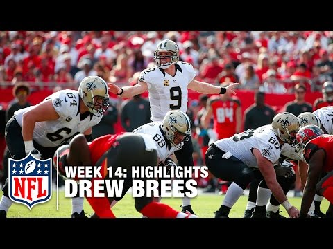 Drew Brees Highlights (Week 14) | Saints vs. Buccaneers | NFL