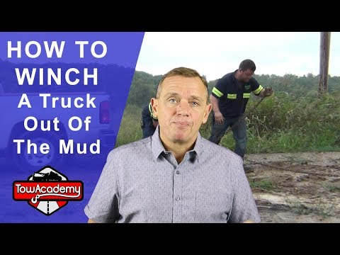 How To Winch A Truck Out of The Mud