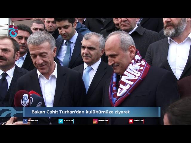 Bakan Cahit Turhan'dan kulübümüze ziyaret