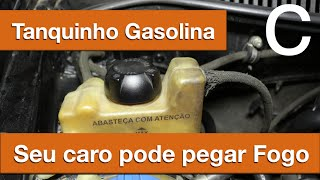Dr CARRO Cuidado com o Tanquinho de Gasolina - Seu carro pode pegar fogo