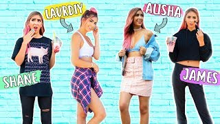 I Wore YOUR Favorite YouTubers Outfits For a Week!