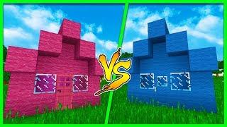 Minecraft - BOY HOUSE VS GIRL HOUSE w/ Little Kelly