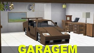 Minecraft Tutorial: Garagem ON/OFF mods