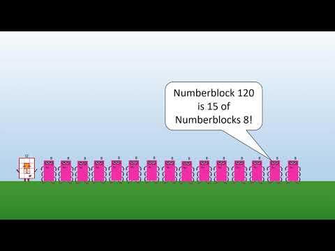 Numberblock 12 Twelve is a Super Rectangle | numberblocks Maynard Elmer