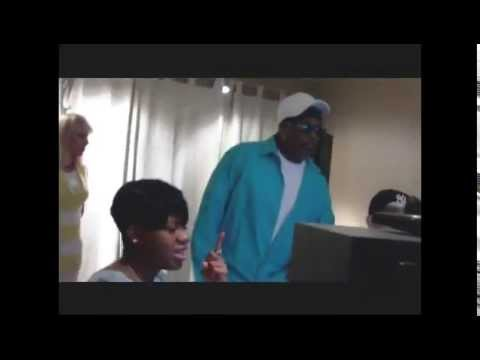 Charlie Wilson and Fantasia Making 'I Wanna Be Your Man' in the Studio
