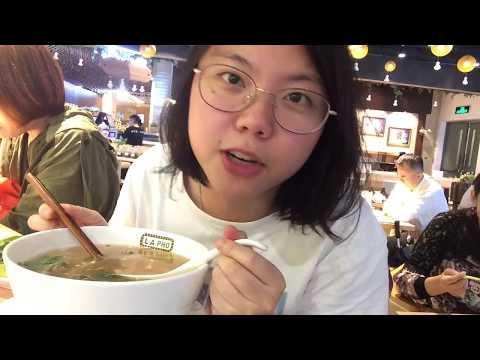 Shanghai  K11 (LA PHO's raw beef pho)
