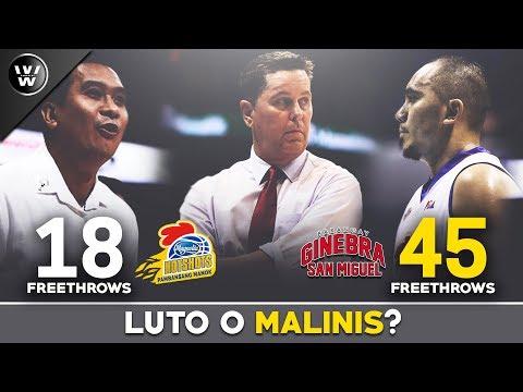 Luto, Bigay o Malinis?  Game 3 ng PBA Semis  Ginebra vs Magnolia
