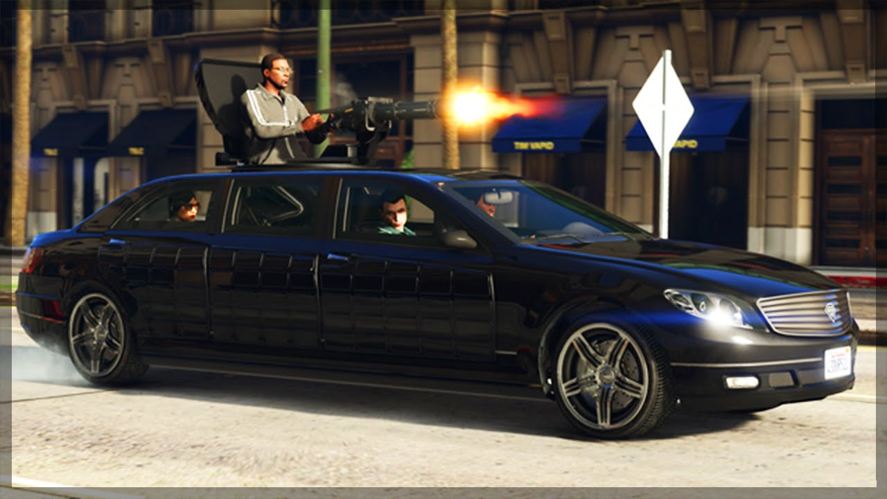 Gta 5 Dlc Update Gameplay New Turreted Limo Features Price