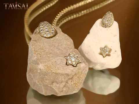 Star Of David Necklace Diamond Gold Heritage Jewelry Designer Jewelry Nyc