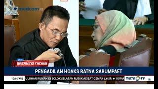 """(Full) Sidang Perdana, Jaksa Bacakan """"Dosa-dosa"""" Ratna Sarumpaet dan Sebut Nama Prabowo & Amien Rais"""