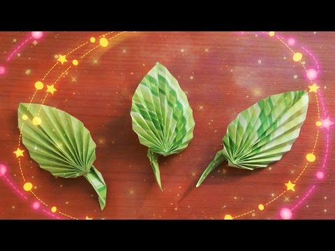 how-to-create-cute-paper-leaves-for-origami-rose,-greeting-cards,-decor.-diy-idears