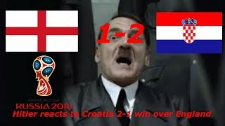 Gambar cover Hitler reacts to Croatia win over England