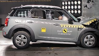 MINI Countryman (2017) Crash Tests [YOUCAR]