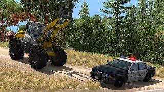 Farmers vs. Police | BeamNG.drive