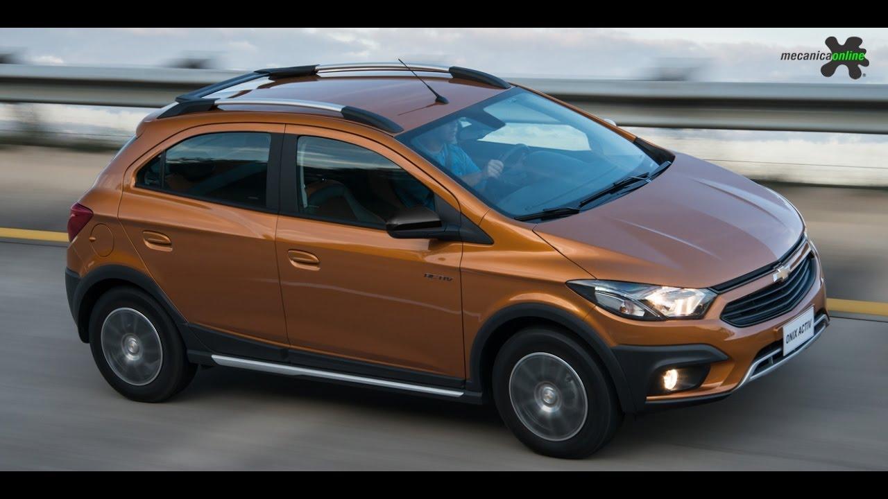Chevrolet Onix Activ 1.4 Automático - Avaliação - YouTube