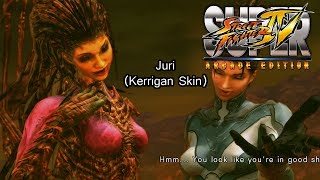 Juri Kerrigan Skin (Super Street Fighter IV: Arcade Edition)