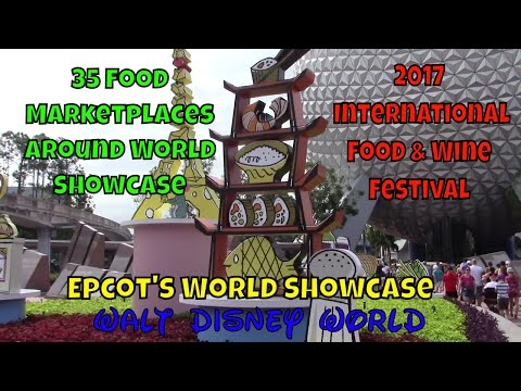 Epcot's International Food & Wine Festival 2017
