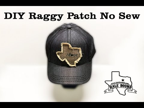SUBLIMATION RAGGY PATCH NO SEW METHOD