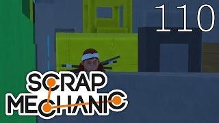 Scrap Mechanic [#110] Mapa Escape by V Master (Mapa Widza)