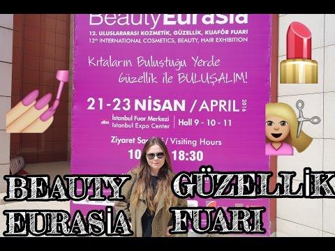 2016 Beauty Eurasia Güzellik,Kozmetik,Kuaför Fuarı | Buse Çakan