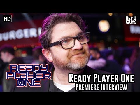 Author Ernest Cline on the dream come true of working with Spielberg  - Ready Player One Premiere