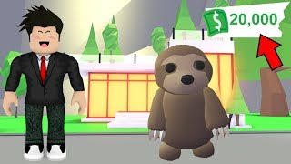 EARN A LOT OF MONEY AND NEW PET FROM ADOPT ME-ROBLOX