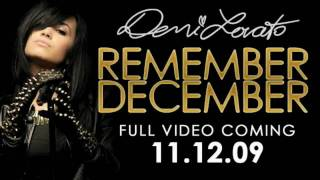 Demi Lovato-Remember December-Official Music Video Preview No.2