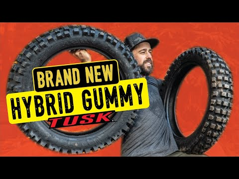 Just released: Tusk Recon hybrid gummy tire!