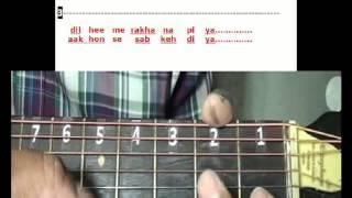 Piyu Bole Piya Bole - Parineeta -Guitar lesson
