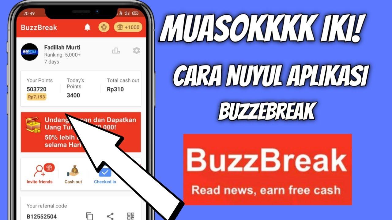 Aplikasi Buzzbreak