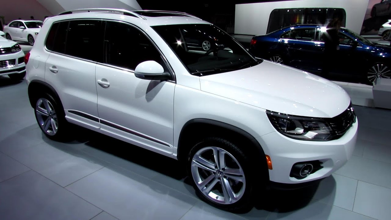 2013 volkswagen tiguan r line exterior and interior. Black Bedroom Furniture Sets. Home Design Ideas