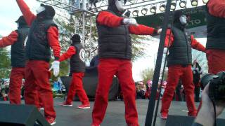 Jabbawockeez at The Las Vegas Great Santa Run 2011