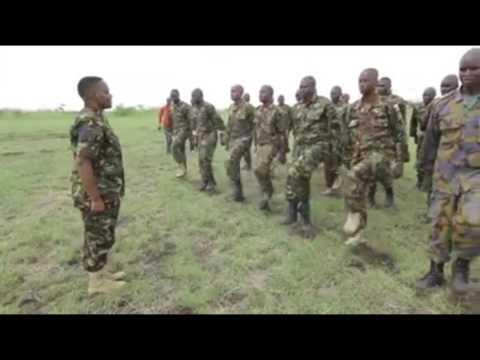 Never Seen Video of KDF Superwomen Soldiers Who Keep us Safe