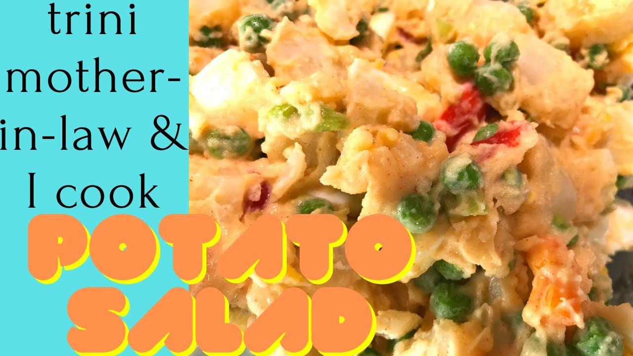 Creamy Potato Salad Trinidad Recipe